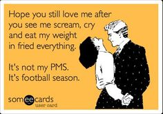 After this type of weekend this is so true for me!! Roll Tide