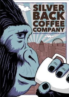 Wake Up London #london #coffee #bigmo #silverback #love Coffee Company, Advertising Poster, My Coffee, Vintage Advertisements, Vintage Posters, Coffee London, Coffee Mornings, Branding, Poster Designs