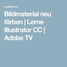 Bildmaterial neu färben | Lerne Illustrator CC | Adobe TV