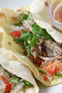 Slow-Cooker Pork Tacos | KitchMe
