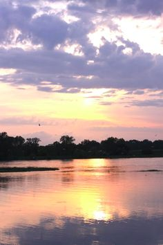 Loire River at Sunset | Design Mom