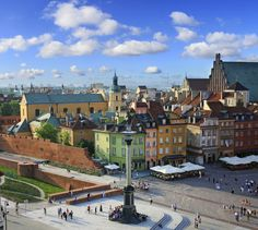 Read our guide to the best things to do on a short break in Warsaw, as recommended by Telegraph Travel. Oh The Places You'll Go, Places To Travel, Beautiful Buildings, Beautiful Places, Poland Travel, Living In Europe, Warsaw Poland, Travel Tours, Panama City Panama