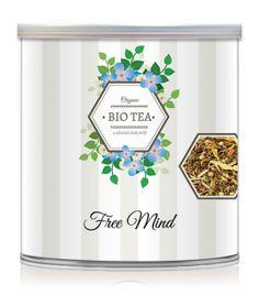 Bio Tea - Chás Biológicos Orgânicos - Lata Bio Tea // Lendas Sublimes - Produtos Gourmet