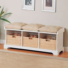 Wildon Home ® Westfir Entryway Storage Bench