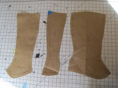 Crafters In Disguise: Costume Progress - Victorian Spats