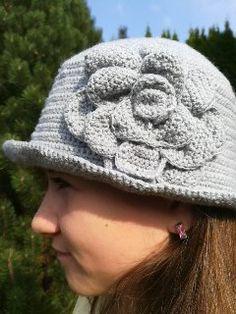 Hackovany klobouk Winter Hats, Crochet Hats, Knitting Hats