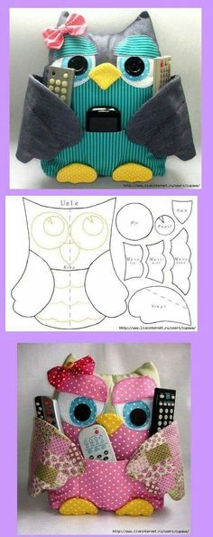 owl crafts for preschoolers . owl crafts for kids . owl crafts for toddlers . owl crafts for adults . owl crafts for kids to make . Sewing Toys, Sewing Crafts, Sewing Projects, Owl Crafts, Owl Patterns, Sewing Tutorials, Fabric Crafts, Quilts, Barn