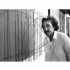 Jesus Rafael Soto Artista cinetico venezolano. http://jesussoto-artevenezolano.blogspot.com.es/p/inicio.html