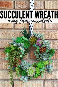 Artificial Succulents, Faux Succulents, Faux Plants, Planting Succulents, Colorful Succulents, Succulent Wreath, Succulent Ideas, Succulent Containers, Succulent Gifts