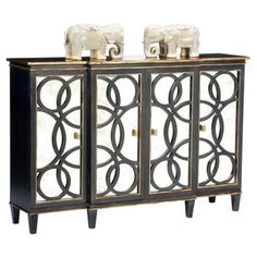 Check out this item at One Kings Lane! Ezra Mirrored Credenza