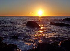 Moonstone Beach Cambria   Panoramio - Photo of Moonstone Beach Sunset, Cambria , California