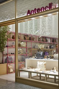 ANTONELLA . Shopping Recreio - Vital Oficina Display Design, Store Design, Merci Shop, Farmhouse Window Treatments, Boutique Stores, Kids Store, Shop Interiors, Retail Design, Visual Merchandising