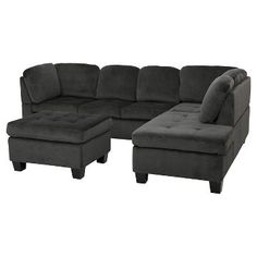 Canterbury 3-piece Sectional Sofa Set - Christopher Knight Home