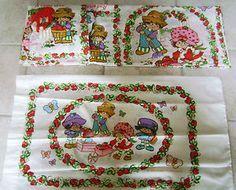 90's strawberry shortcake bed sheet- Recherche Google