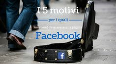 Profilo o pagina su Facebook per una band?