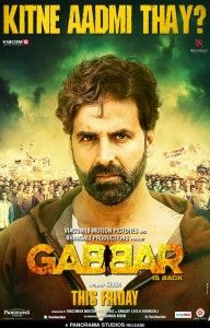 Bollywood Latest and Newest Upcoming Movie Gabbar is Back 2015 New Latest Poster Look out .See Akshay Kumar Newest Posters Look of Gabbar is Back Film All Hindi Movie, Hindi Movies Online, 2015 Movies, Hd Movies, Films, Movies Free, Watch Movies, Bollywood Posters, Full Movies Download