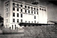 مطاحن فلسطين الكبرى حيفا، فلسطين ١٩٢٥  Grands Mills of Palestine Haifa, Palestine 1925  Grandes Molinos de Palestina Haifa, Palestina 1925