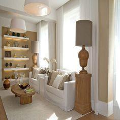 salas decoradas pequenas e aconchegantes