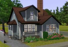 Ferguson house by plasticbox • Sims 3 Downloads CC Caboodle