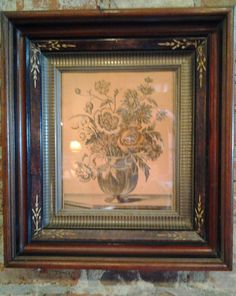 Antique+Victorian+Shadow+Box+Frame+Gold+and+by+BentleyandMurray,+$115.00