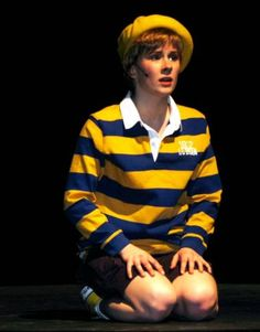 JoJo from Seussical - is it just me or is this person channeling a young David Bowie?