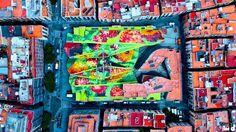 衛星から撮影された写真が毎日アップロードされているサイト「Daily Overview」の景色をご紹介します。 普通なら見過ごしてしまいそうな風景も、視点を変えて上空から見れば驚くような表情をみせます