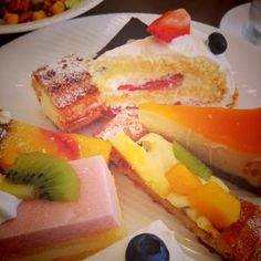 #десерт #торт #пирожное #фрукты