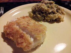 jummietummie: Gepaneerde vis met een puree van broccoli & pastinaak