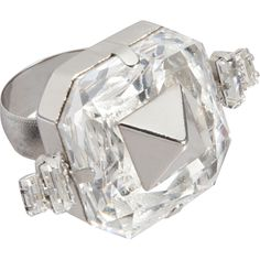 FALLON  Crystal Faux Engagement Ring