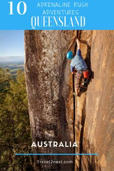 10 adrenaline rush adventures in Queensland, Australia. 'You're not living, if you're not on the edge' is a quote many adrenaline junkies live life by.
