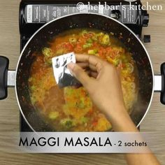 maggi noodles recipe, maggi masala noodles, maggi recipes with step by step photo/video. street style 2 minute maggi noodles for breakfast and evening snack Maggi Masala, Maggi Recipes, Evening Snacks, Spinach Stuffed Mushrooms, Noodle Recipes, What To Cook, Noodles, Curry, Fast Recipes