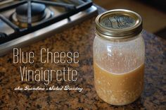Blue Cheese Vinaigrette Recipe. This is my favorite dressing! SO flavorful!