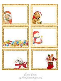 """de jolies étiquettes à imprimer pour vos cadeaux ou vos créas... vous trouverez de nombreuses planches de freebies sur ce site : encore une de nos """"mines d'or"""" !..."""