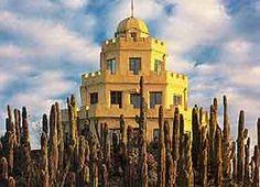 Tovrea Castle in Phoenix - beautiful! Heard it's now restored and open for tours!
