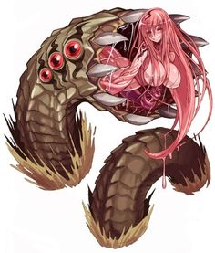 The Alraune is a type of plant monster with the form of a beautiful woman wrapped in flower petals that lives in forested regions. They don't normally move much, usually catching their prey b...