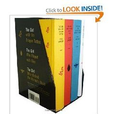Stieg Larsson`s Millennium Trilogy Deluxe Boxed Set: The Girl with the Dragon Tattoo, The Girl Who Played with Fire, The G...