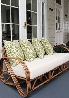 30 Bamboo Sofa Design Ideas For Outdoor Furniture Tropical Furniture, Cane Outdoor Furniture, Sofa Design, Sofa, Furniture, Cane Furniture, Wicker Furniture, Cane Sofa, Bamboo Sofa