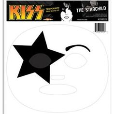 KISS Starchild Temporary Face Makeup Costume Accessory