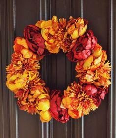 50x Nejkrásnější podzimní věnce - inspirace