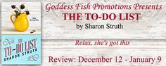 With Love for Books: The To-Do List by Sharon Struth - Book Review, Exc...