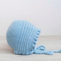 Capota para bebé tejida a mano por ALittleDresses en Etsy