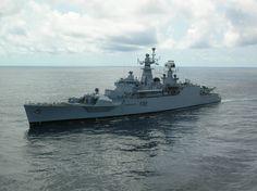 INS Ganga (F22) - Godavari class Frigate (India)