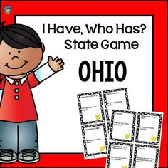 All kids love games! If you are looking for a fun game to use in your classroom when learning about your state, look no further! This I Have, Who Has game is a fun way for students to learn more about or review their state. With this game, students will learn about the state capital, state symbols, economic activities, geography, fun facts, and MORE!