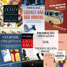 Gerência e Liderança, Autoajuda e Relacionamentos, Biografias e Memórias, Livros Pocket - Thomas Nelson BR 55%