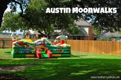 Austin Moonwalks ~ Austin, TX - R We There Yet Mom? | Family Travel for Texas and beyond...