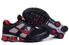 Nike Shox Turbo+ 11 Men Shoes - Black Red