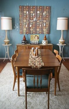 Nice dining room color