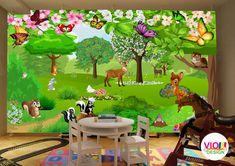 Fototapet Copii 13 Bambi - VIODesign Bambi, Aquarium, Abstract, Art, Beast, Photo Wallpaper, Goldfish Bowl, Summary, Art Background