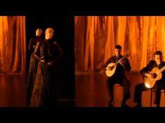 """Fado with a sweet gypsy twist Miguel Poveda y Mariza """"Meu fado meu"""" - Película """"Fados"""" de Carlos Saura 2007"""