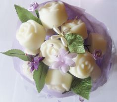 Bespoke melt bouquet in one of our 'Spa' fragrances